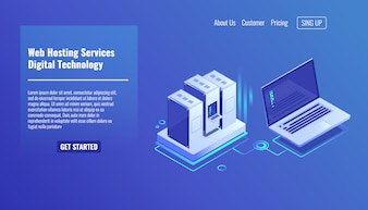 Serverrack, Remote-Systemadministration, Outsourcing-Service