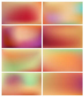 Set abstrakter hintergründe