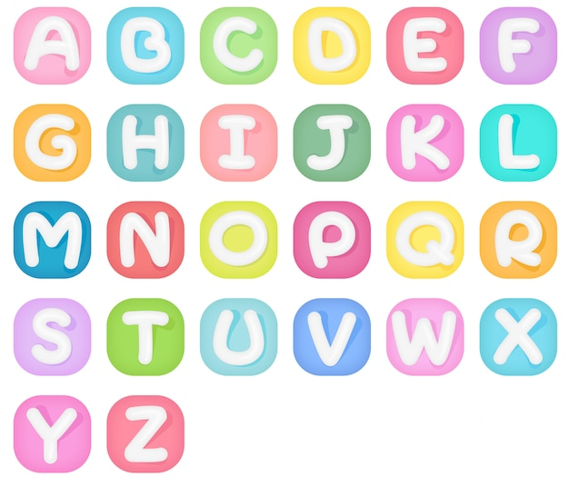 Set alphabetikonen.