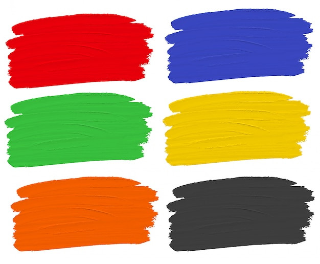 Set aquarellfarbe