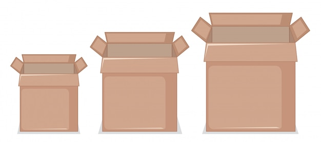 Set aus karton