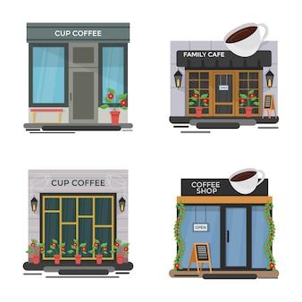 Set cafe abbildungen