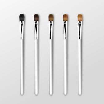 Set clean professional makeup concealer lidschattenbürsten