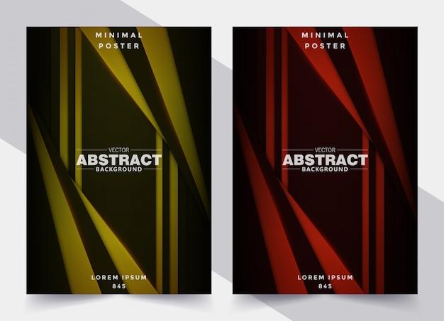 Set cover abstrakte geometrische form