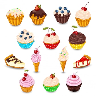 Set desserts