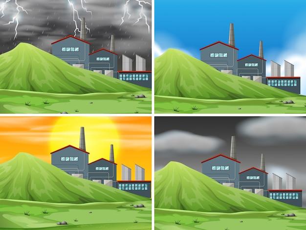 Set fabrikszene