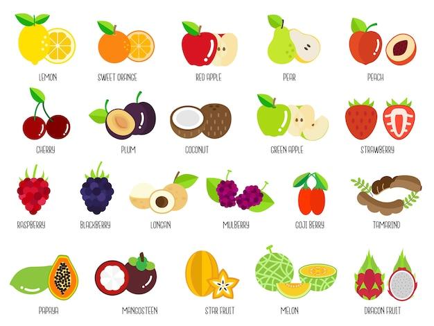 Set früchte