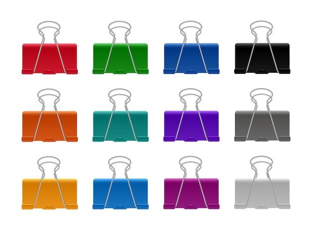 Set für farbclip oder klemme für papier