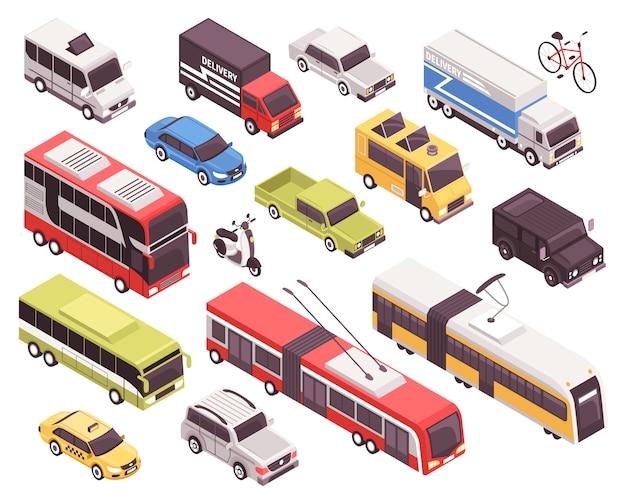 Set für öffentliche verkehrsmittel