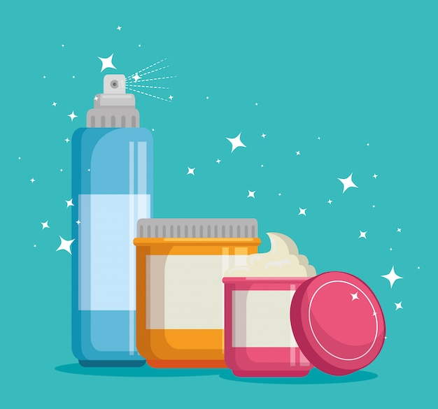 Set gesichtscremes produkte