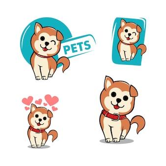 Set hund logo