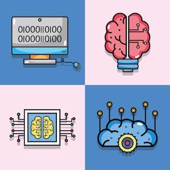 Set künstliche intelligenz technologie