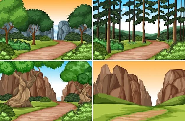 Set naturlandschaft
