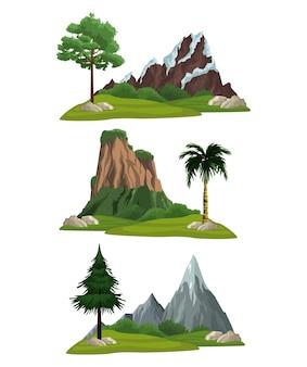 Set naturlandschaften