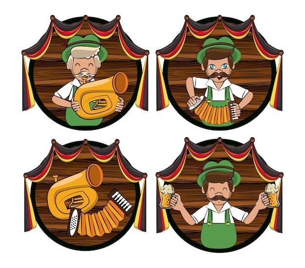 Set oktober festival embleme