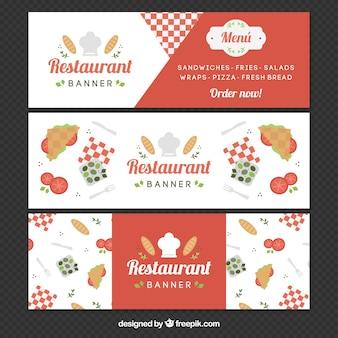 Set restaurant banner