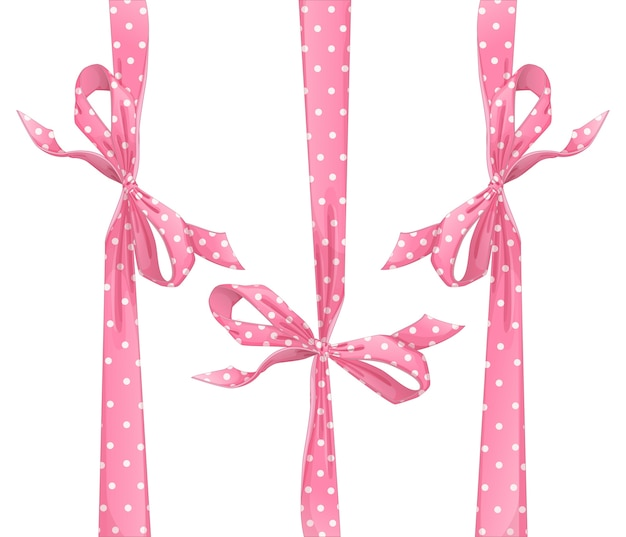 Set rosa bögen