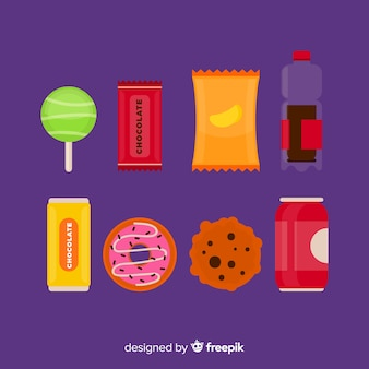 Set snacks