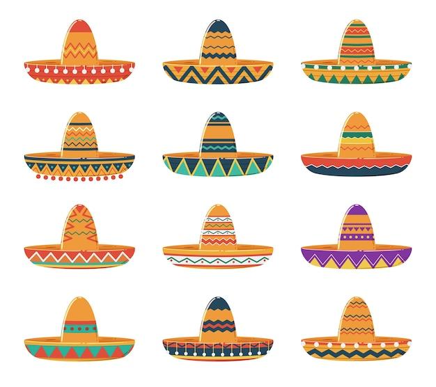 Set sombrero-hüte