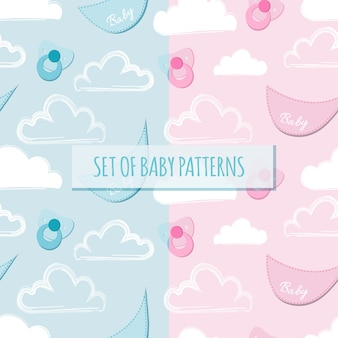 Set von baby-mustern