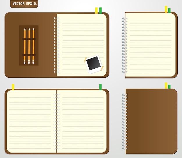 Set von braun notebook