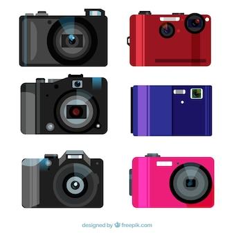 Set von digitalkameras