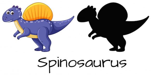 Set von spinosaurus design