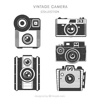 Set von wunderschönen vintage-kameras
