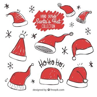 Set Weihnachtsmann Hüte