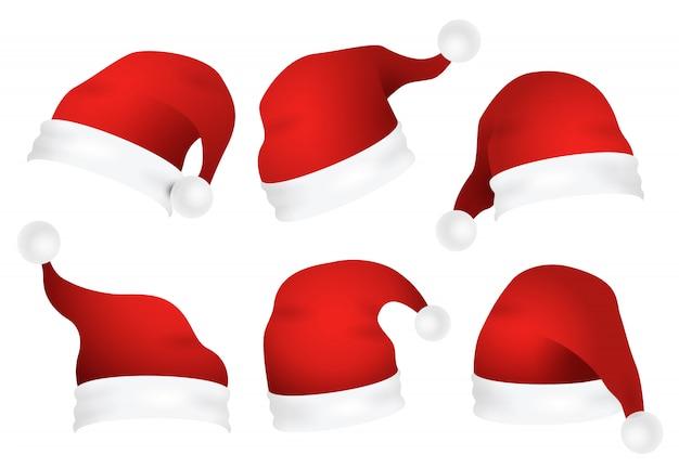 Set weihnachtsmützen
