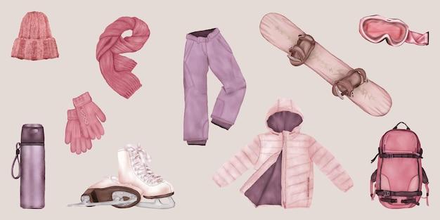 Set winterkleidung
