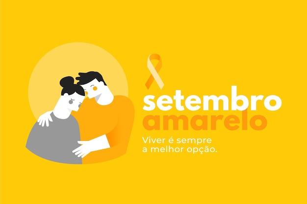 Setembro amarelo konzept
