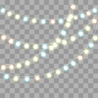 Seth, glitzernde glühbirnen