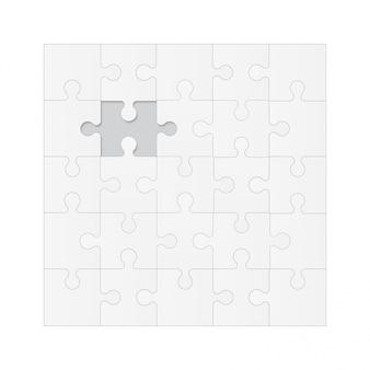 Setze puzzleteile ..