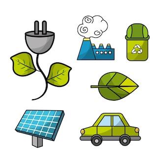 Setzen sie ökologischen naturschutz mit umweltschutz