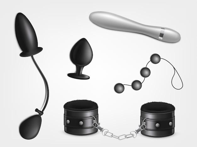 Sexspielzeug zum vergnügen der frau, erotisches rollenspiel für erwachsene, sexuelle bdsm-spiele