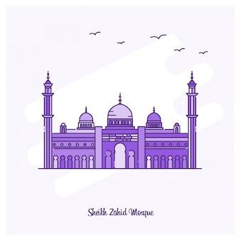 Sheikh zahid mosque wahrzeichen