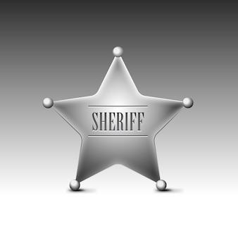 Sheriffs abzeichen