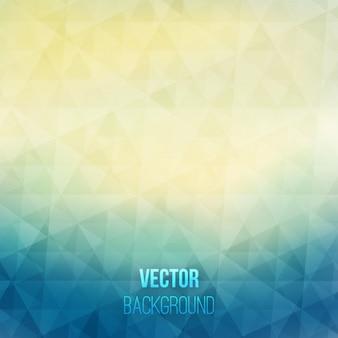 Shiny abstrakten hintergrund in blau und gelben tönen