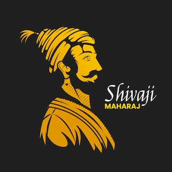 Shivaji maharaj illustration