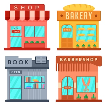 Shop-icon-set