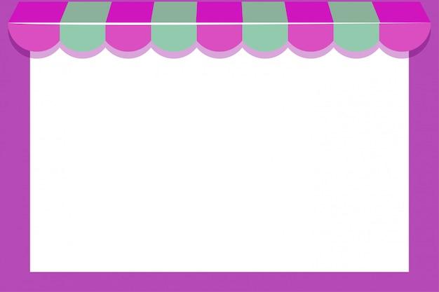 Shop mit rosa rahmen