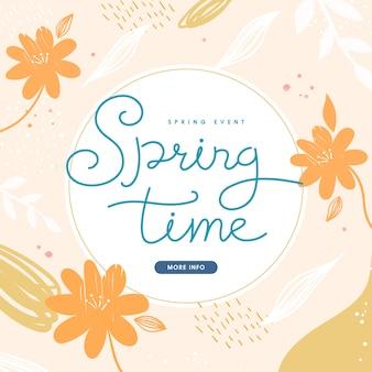 Shopping illustration. tropic cover set. frühlingssaison muster.