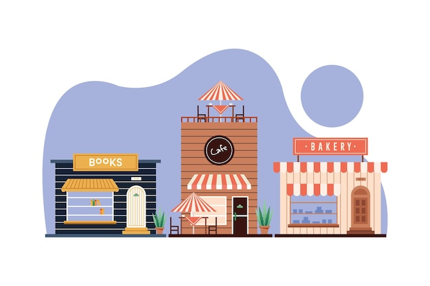Shops bühnenbild