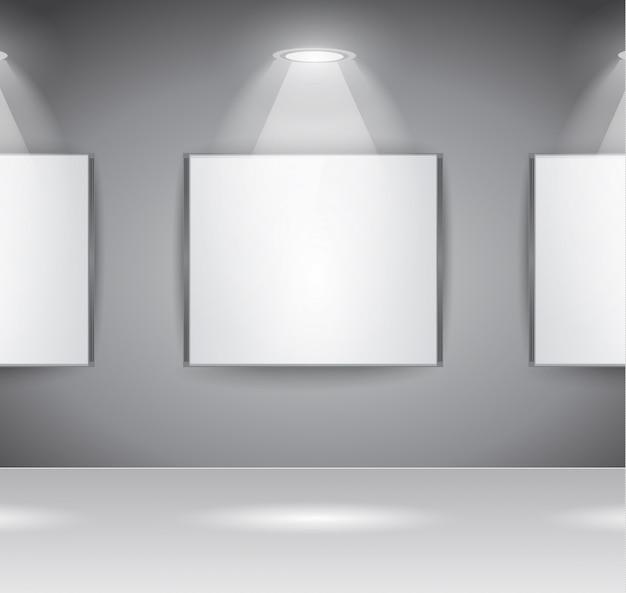 Showroom panel für die sloganausstellung