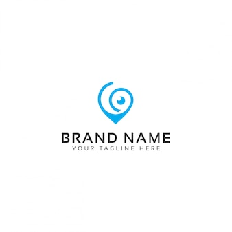 Sichere tracking-logo-vorlage