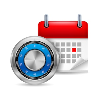 Sicherer code und kalender