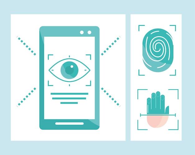 Sicherheit der biometrischen überprüfung