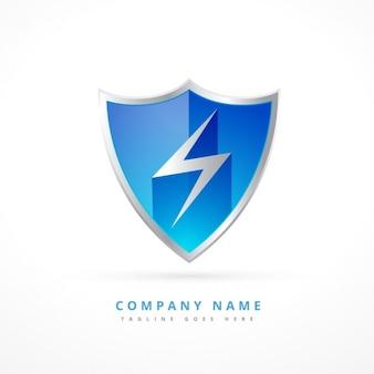 Sicherheit schild-logo