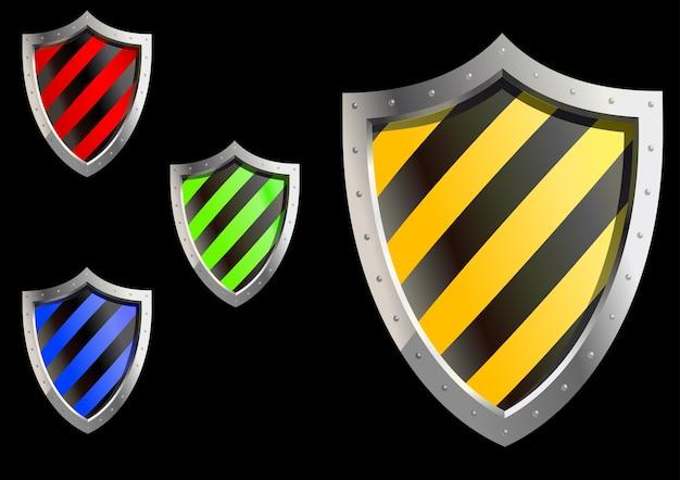 Sicherheit sheld symbole